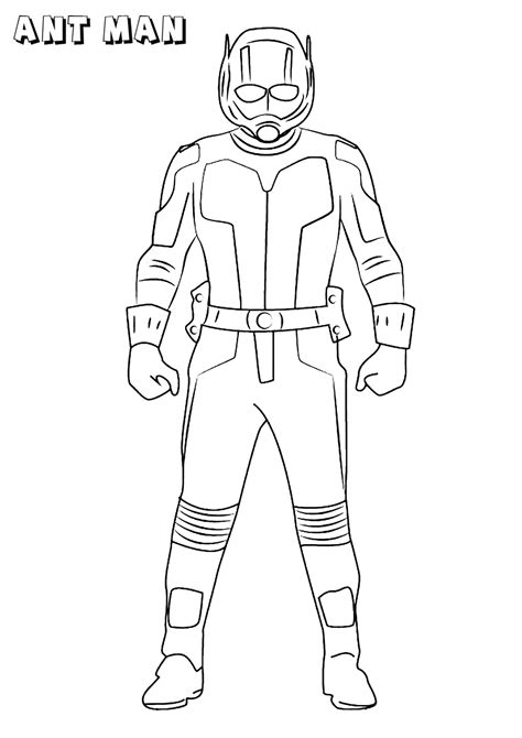 ant man ant man kids coloring pages