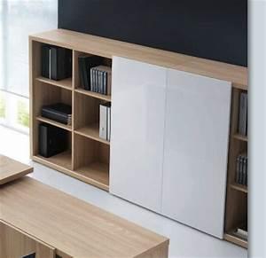 Meuble Bas Porte Coulissante : mito meuble de rangement design brand new office ~ Dailycaller-alerts.com Idées de Décoration