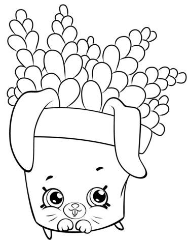 Freda Fern Shopkin coloring page Free Printable Coloring