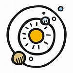 Solar System Icon Clip Sistema Icons Space