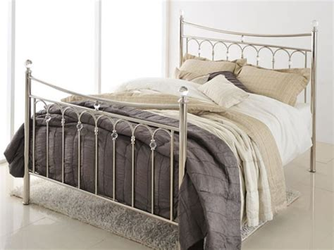 Silver Bed Frame by Antique Silver Bed Frame Dramatic And