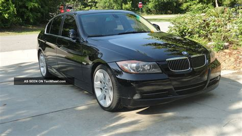 2006 Bmw 330i With Sport And Premium Package, Black