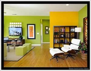 Wohnzimmer Wandgestaltung Farbe : wandgestaltung mit farbe wohnzimmer gr n ~ Markanthonyermac.com Haus und Dekorationen