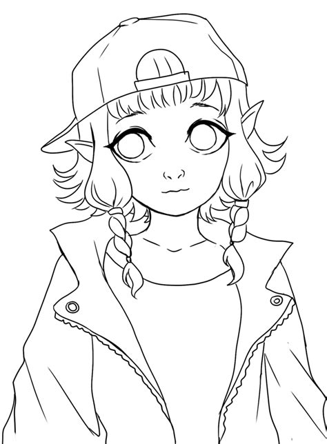 lineart free to color by nasuki100 on deviantart