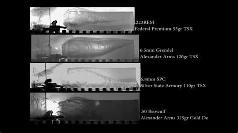multi caliber carbine analysis terminal effects  barnes tsx  barrel youtube