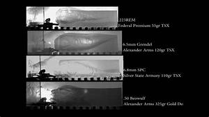 458 Socom Vs 50 Beowulf Ballistics Chart Multi Caliber Carbine Analysis Terminal Effects Of