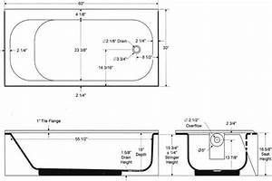 Bathtubs Idea Interesting Standard Bathtub Dimensions