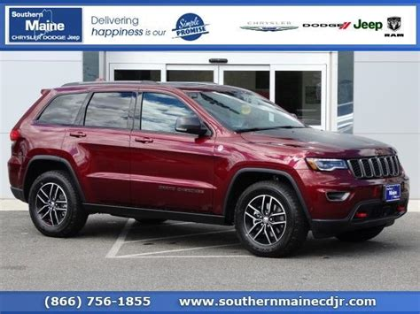 jeep cherokee trailhawk red jeep grand cherokee red saco mitula cars