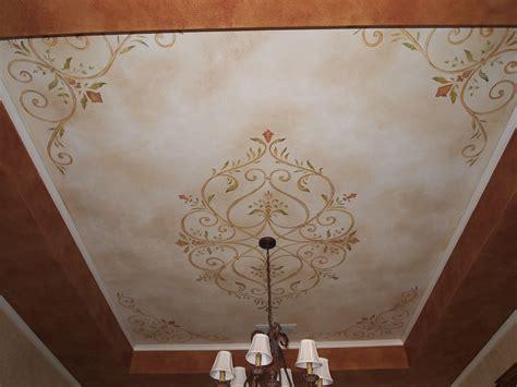 Ceiling Stencils by Bathroom Wall Decorations Stencils For Walls