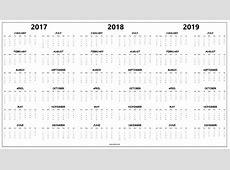 2019 Calendar One Page printable 2018 calendars