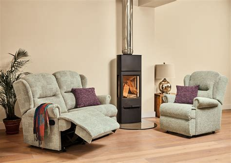 Settees For Small Rooms by Malvern Small Fabiric Fixed 2 Seater Settee Care100