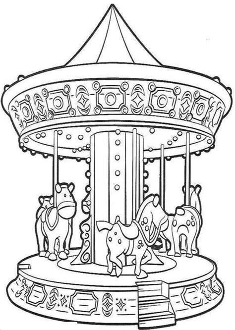 Carousel Book Template by Carousel Dragon Coloring Book Pages Coloring Pages