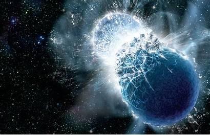 Science Collision Cosmic Illuminating