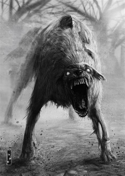 cane ferox by matteospirito on deviantART   Scary art