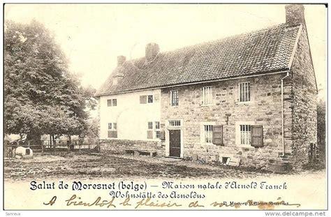 moresnet carte postale ancienne maison natale d arnold
