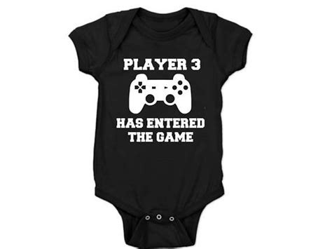 Player 3 Has Entered The Game Baby Announcementpregnancy