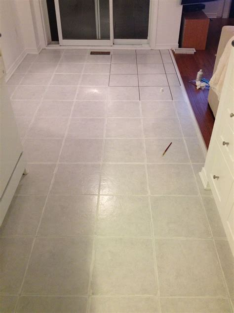 Painting Tile Grout  Leclair Decor