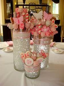 edible centerpieces love this idea for the bridal shower With wedding shower table centerpieces