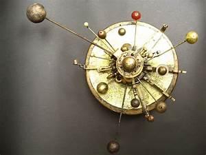 Steampunk Solar System model (Orrery) Assemblage