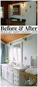 How to makeover a bathroom without remodeling for How to remodel bathroom cheap