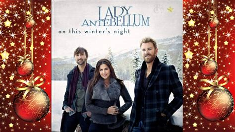 lady antebellum christmas album