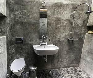 Bad In Stein : interessantes badezimmer design alles im bad aus rauem stein ~ Bigdaddyawards.com Haus und Dekorationen