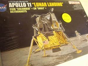 * DRAGON * APOLLO 11 LUNAR LANDING COLUMBIA/EAGLE PLASTIC ...