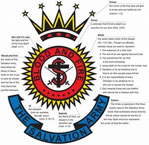 What Do The Salvation Army Crest And Shield Signify
