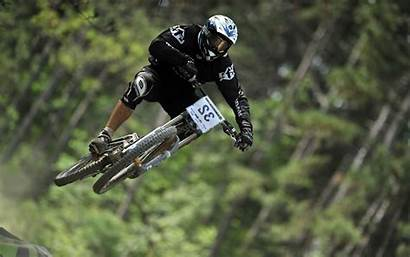 Downhill Bike Cycling Wallpapers Flying Phone Sport