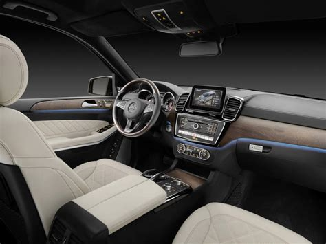mercedes gls interior 2017 mercedes maybach gls will feature higher level of comfort