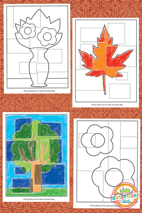 abstract coloring pages  kids printable