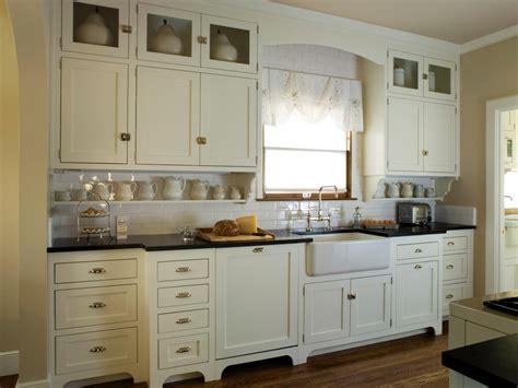 cottage kitchen backsplash this quaint cottage kitchen features antique white shaker