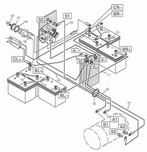 Yamaha Golf Cart 36 Volt Wiring Diagram  U2013 Powerking Co