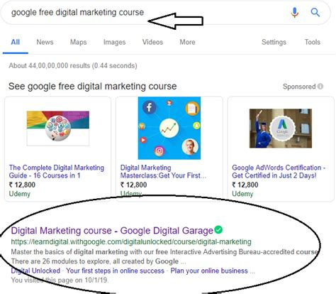 Free Digital Marketing Courses With Certificates by 1 Website Learn Digital Marketing Course For