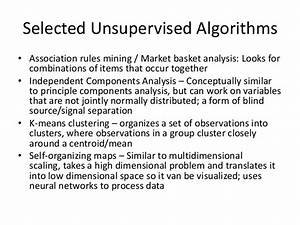 Basic Overview of Data Mining