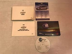 2008 Chevy Chevrolet Equinox Owners Manual With Onstar