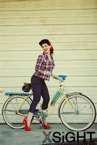 Rockabilly Pin Up Girls Bikes