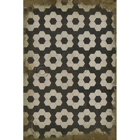 black on white on black pattern indoor outdoor rug