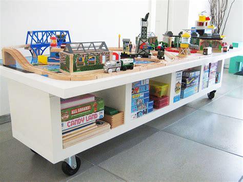 diy train table top 25 best ikea hacks for kids