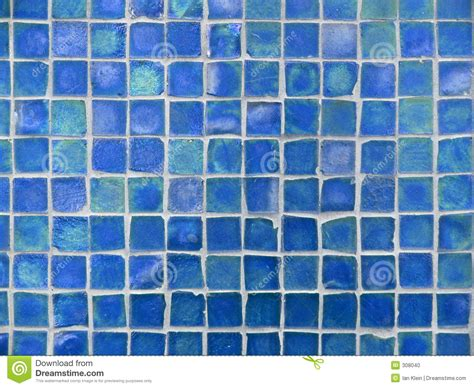 background pattern  turquoise  blue glass tiles stock