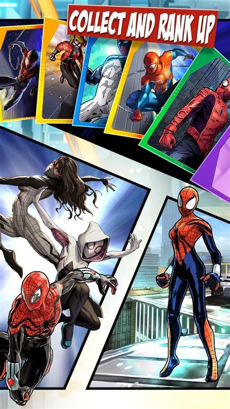 android game application spider man unlimited
