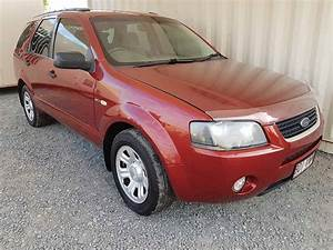 Automatic AWD Ford Territory SUV 2005 Red - Used Vehicle Sales  Red