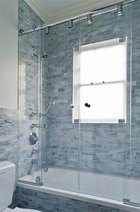 Shower door ideas bathroom contemporary with ceiling for How to replace a bathroom window