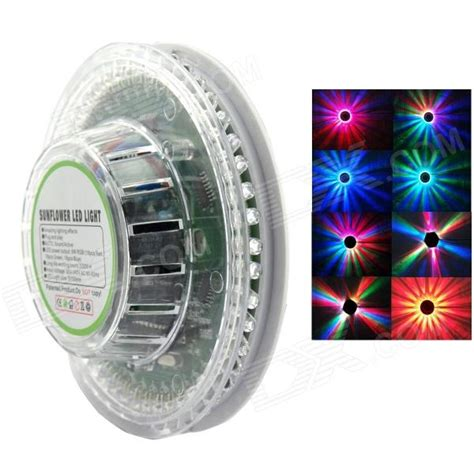 sound activated lights xl 17 8w 48 led rgb sound activated sunflower stage light