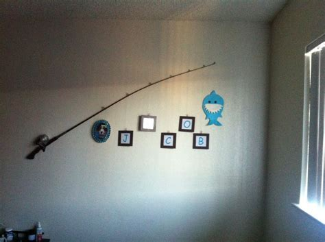 fishing pole wall decor vintage fishing pole frames