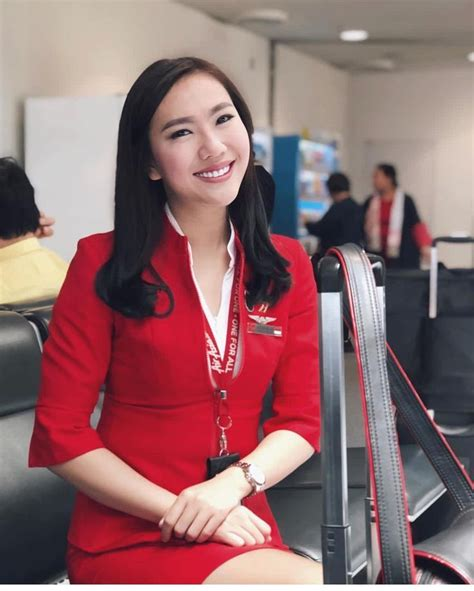 Pramugari Airasia Indonesia Pramugari Airasia • Instagram Photos And Videos Girl Di 2019