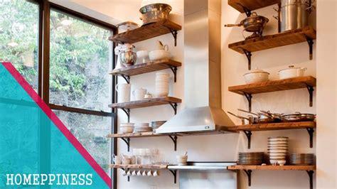 kitchen shelves design ideas must 25 creative kitchen shelves ideas for small 5603