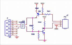 Schematic Diagram Of Serial Rs232 Interface Water Level Sensors