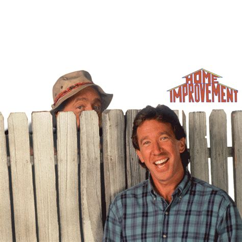 "Here's Why Wilson Hid Behind The Fence On ""home Improvement"""