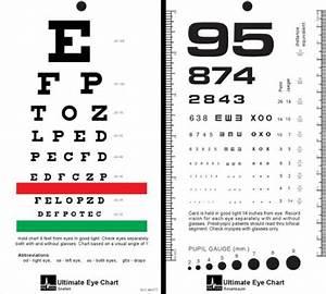 Mccoy Ultimate Rosenbaum Snellen Pocket Eye Chart